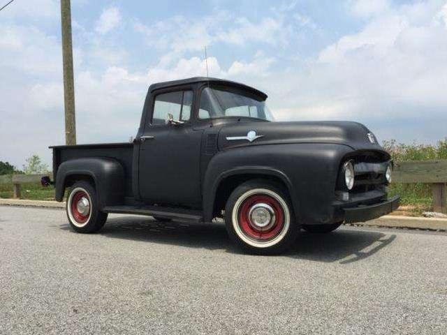 Ford F100 11 Used 1956 Pickup Truck Ford F100 Cars
