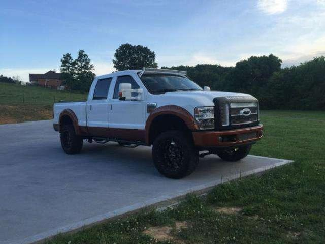 Ford F 250 King Ranch 6.4l 2008 Heated Leather Pow