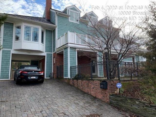 Foreclosure Investment Auction Property: Broad, Bethesda Md