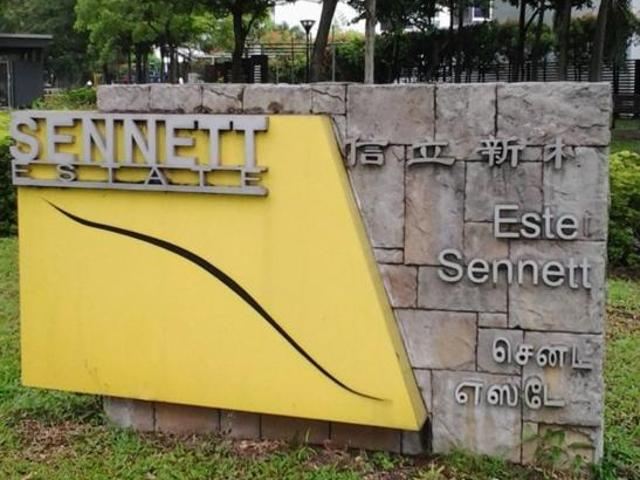 Freehold 2 Storey Inter Terrace In District 13 In Jalan Kemboja, Northeast Singapore For Sale