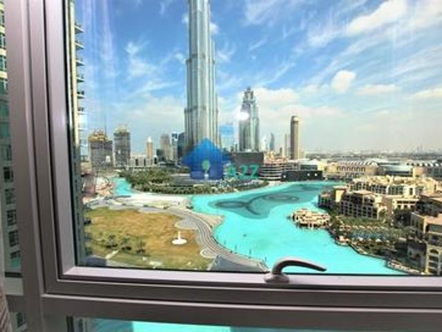 Full Burj And Fountain View 3 Bed In Residences