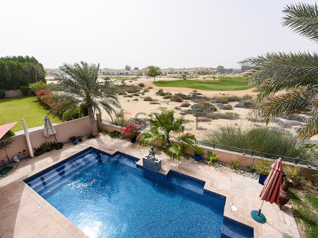 Full Golf Course View Private Garden And Pool Saheel Aed 6,500,000