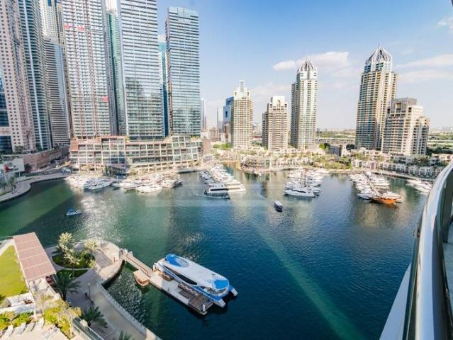 Full Marina View | 2 Br + Study | Fully Furnished