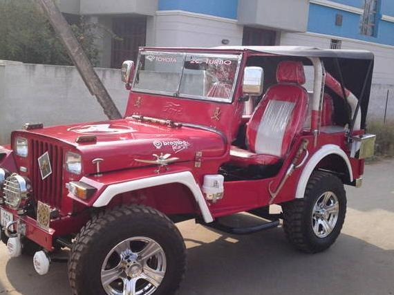 Fully altered jeep for sale
