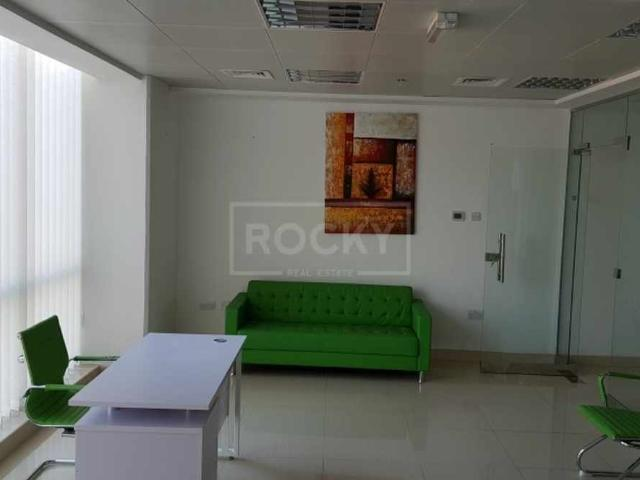 Fully Fitted Furnished Office Silicon Oasis