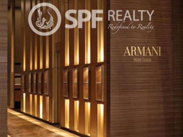 Fully Furnished 1 Bed Apt In Armani Residence Aed 35,000,000