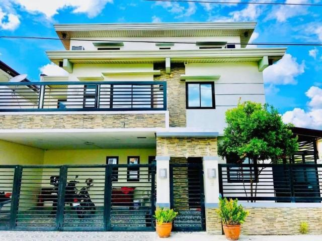 Fully Furnished House And Lot For Rent In Pampang Near Sm Clark