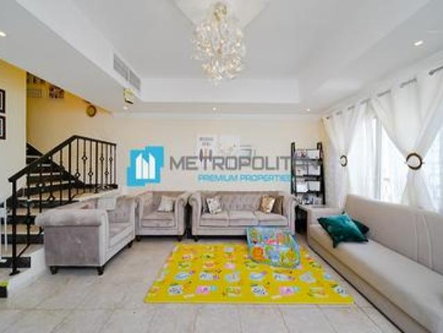 Fully Furnished | Spacious Layout | W/ Maids Room