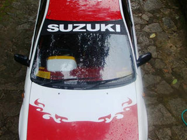 Fully rally type modified maruti esteem for sale