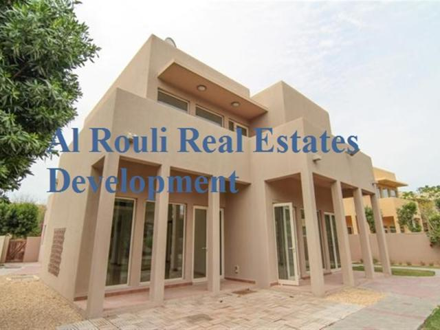 Fully Upgraded Independent Type 7 3br+m Villa Available For Rent In Saheel Arabian Ranches...