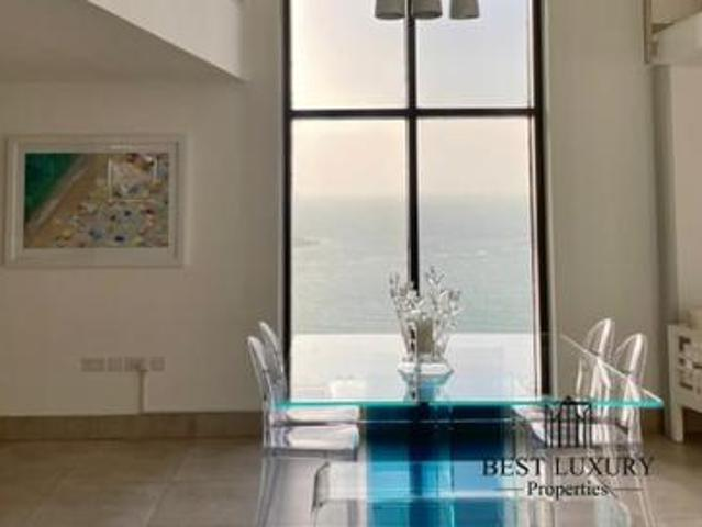 Fully Upgraded | Luxurious Interior | Sea View | Duplex