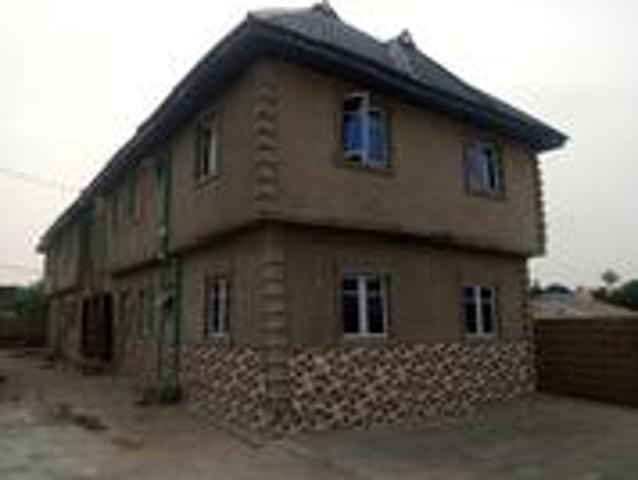 Furnished 2bdrm Block Of Flats In Kunletaiwo Co Of, Abeokuta North