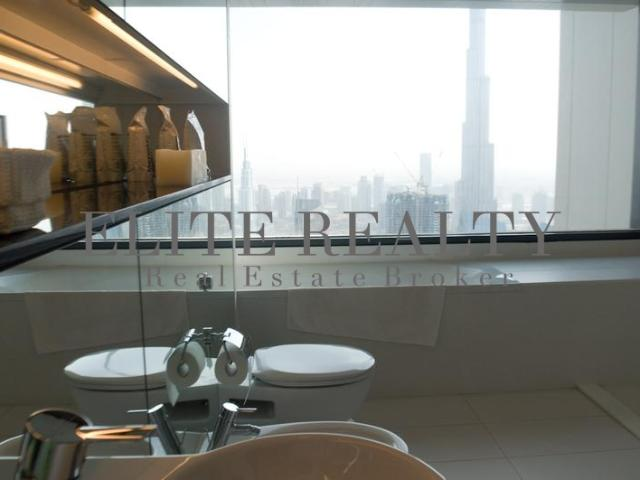 Furnished 2br Apartment In Index Tower, Difc With Fountain And Burj Views Aed 4,800,000