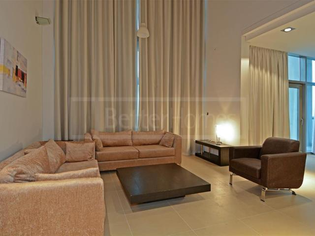 Furnished Duplex Unit Facing Szr In Liberty House Aed 170,000