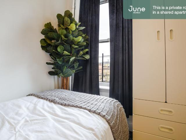 Furnished Private Room In 4 Bed 1 Bath. June Homes Exclusive