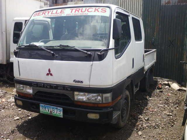 Fuso canter double cab 4x4