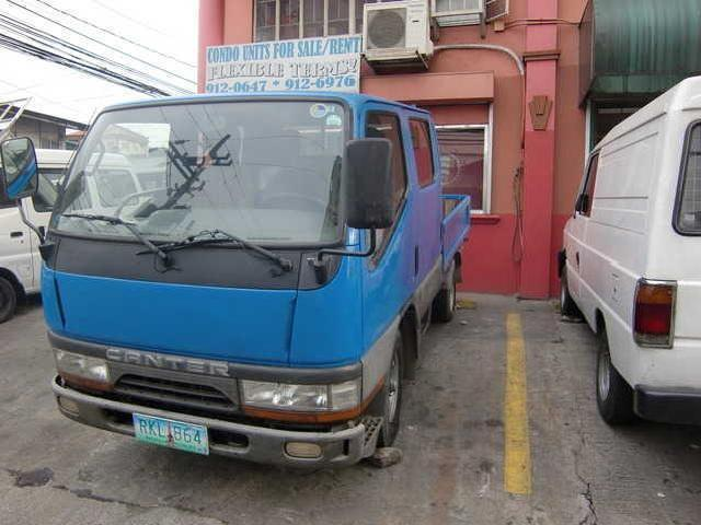 Fuso Canter Double Cab Truck