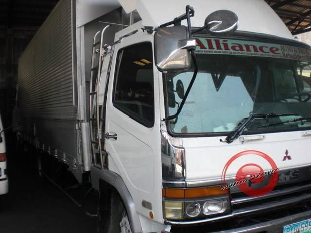Fuso fighter 18 24ft 6 8 stud wingvan aluminum van dropside japan surplus