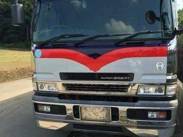 Fuso Super Great Cargo Dropside 6m70 Engine