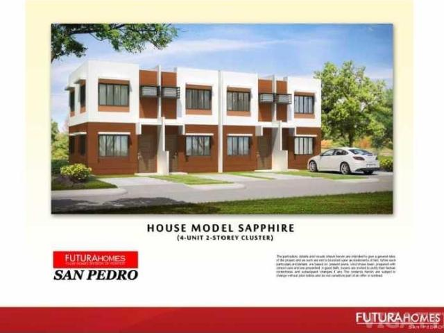 Futura Homes Townhouse House And Lot For Sale In San Pedro Laguna