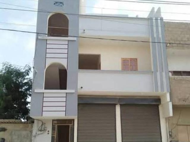 G 2 House With Shops Available For Sale In Khuda Ki Basti