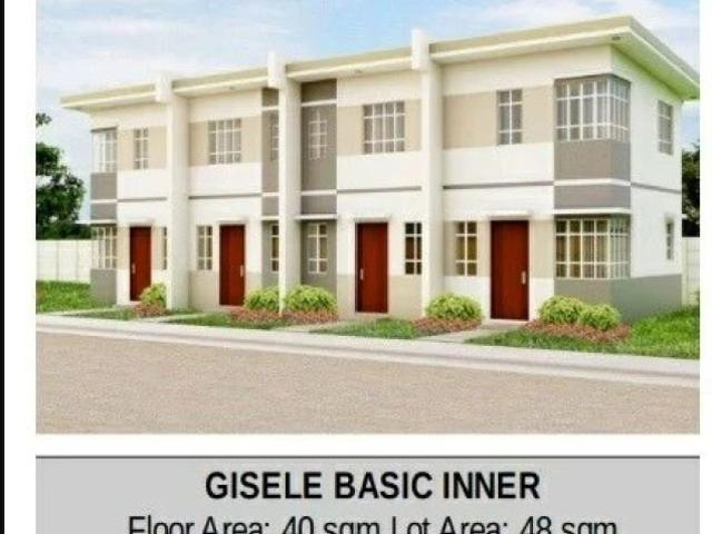 Giselle Townhouse @heritage Homes Trece Martires Ready For Occupancy