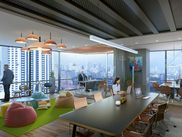 Glass Unit Office For Sale In Offices At The Galleon, Ortigas, Pasig City