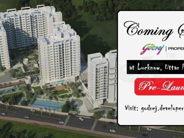 Godrej Properties Coming Soon In Lucknow With Spacious Residential Apartments For Sale