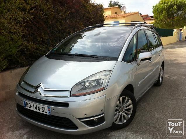 Grand C4 Picasso 7 Places Exclusive Mpv6