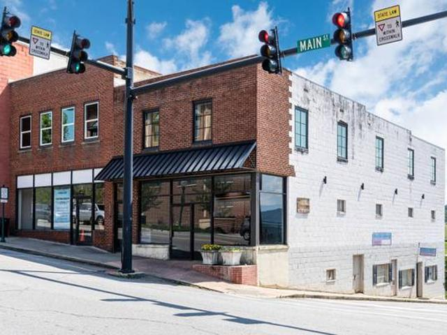Great Street Level Retail Space At Signalized Corner Location Mars Hill