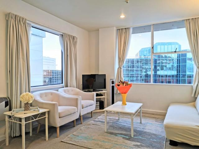 Heart Of The City 2beds Apartment, Secure Parking