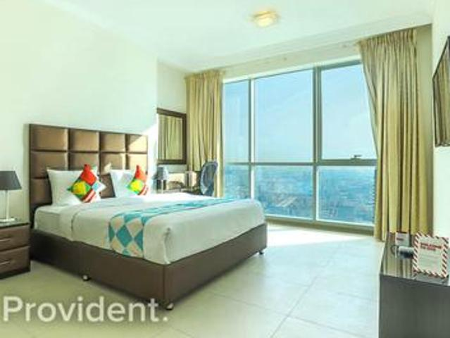 High Floor With Sea View, Unfurnished