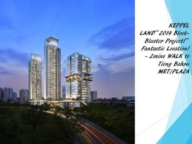 Highline Residence 3 Bedrooms In Kim Tian Road, Central Singapore For Sale