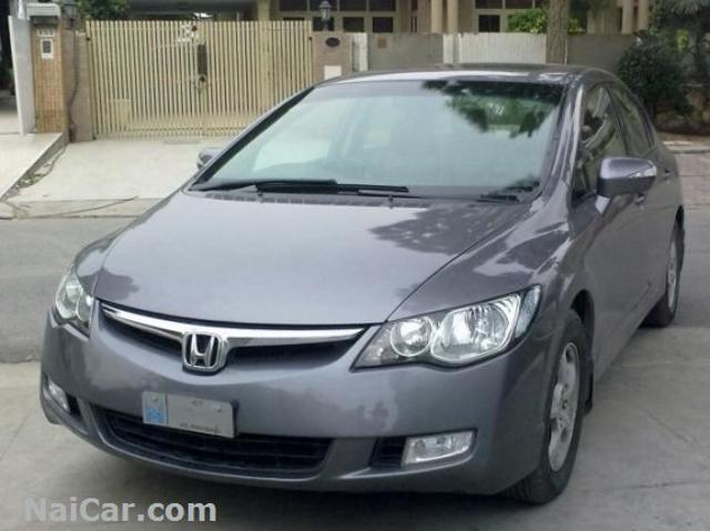 Honda Civic 2007 For Sale >> Honda Civic Used Honda Civic 2007 Cng Grey Mitula Cars