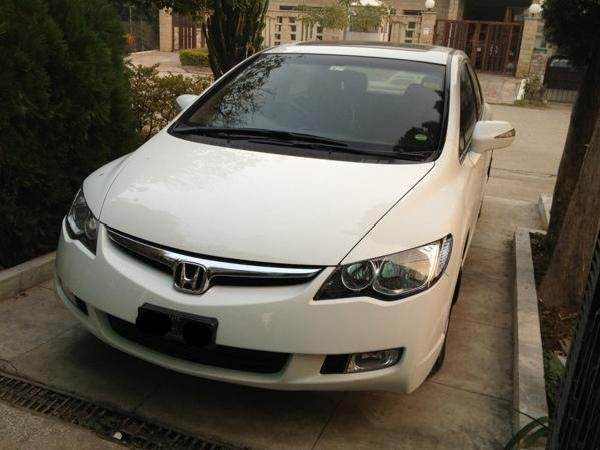 Honda Civic In Abad Used White 2008 Urban Mitula Cars