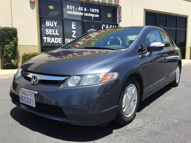 Honda Civic Hybrid In California   Used Honda Civic Hybrid Blue Automatic  California   Mitula Cars