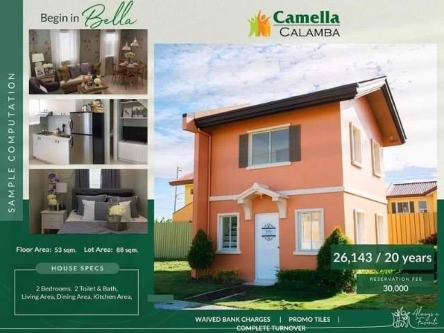 House And Lot For Sale In Camella Calamba