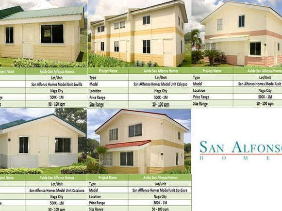 House And Lot For Sale In Naga City From 500k 1m