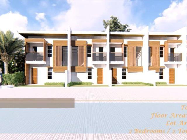 House And Lot For Sale In Rosario Batangas 2 Storey Townhouse Complete Turnover Unit