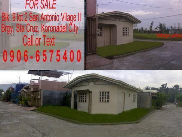 House And Lot For Sale *koronadal City