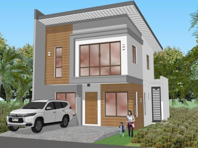 House And Lot In Batasan Hills, Sunnyside Heights 100sqm Floor Area, 133sqm Lot Area