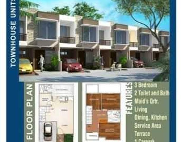 House And Lot Townhouse For Sale In Tagbilaran City, Bohol