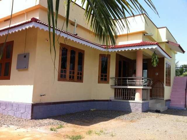 House For Rent With All Modern Amenities At Ottapalam