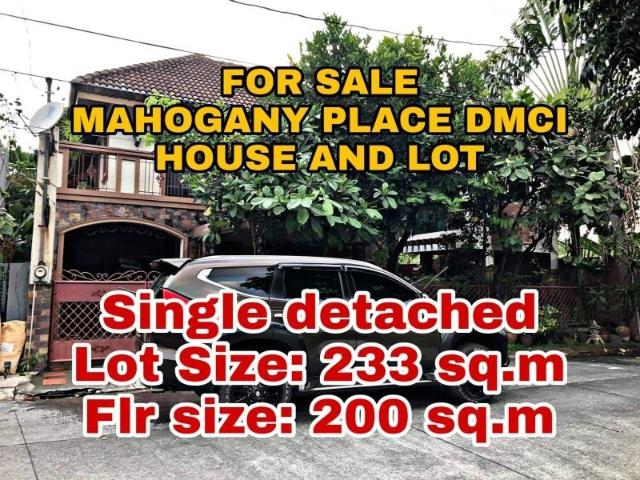 House For Sale In Mahogany Place Acacia Estate Dmci 3 Bedroom Rfo