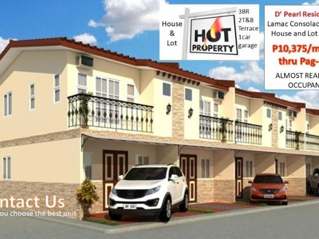 House & Lot For Sale In Consolacion Cebu D Pearl Residences