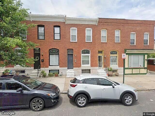 Hud Foreclosed Baltimore Single Family Home