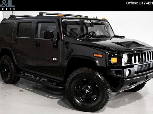 Hummer H2 In Texas Used Hummer H2 Black Texas Mitula Cars