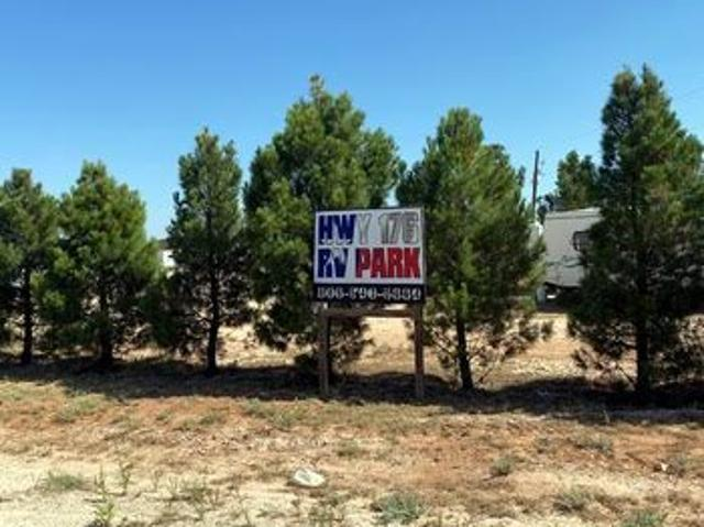 Hwy 176 Rv Park For Sale In Andrews, Tx