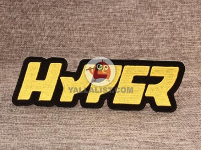 Hyper Fashion Embroidered Patches Aed 3