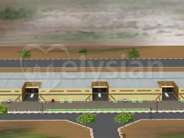 Ideal Pe Investment 10.5%roi Industrial Warehouse Bldg Aed 80,500,000